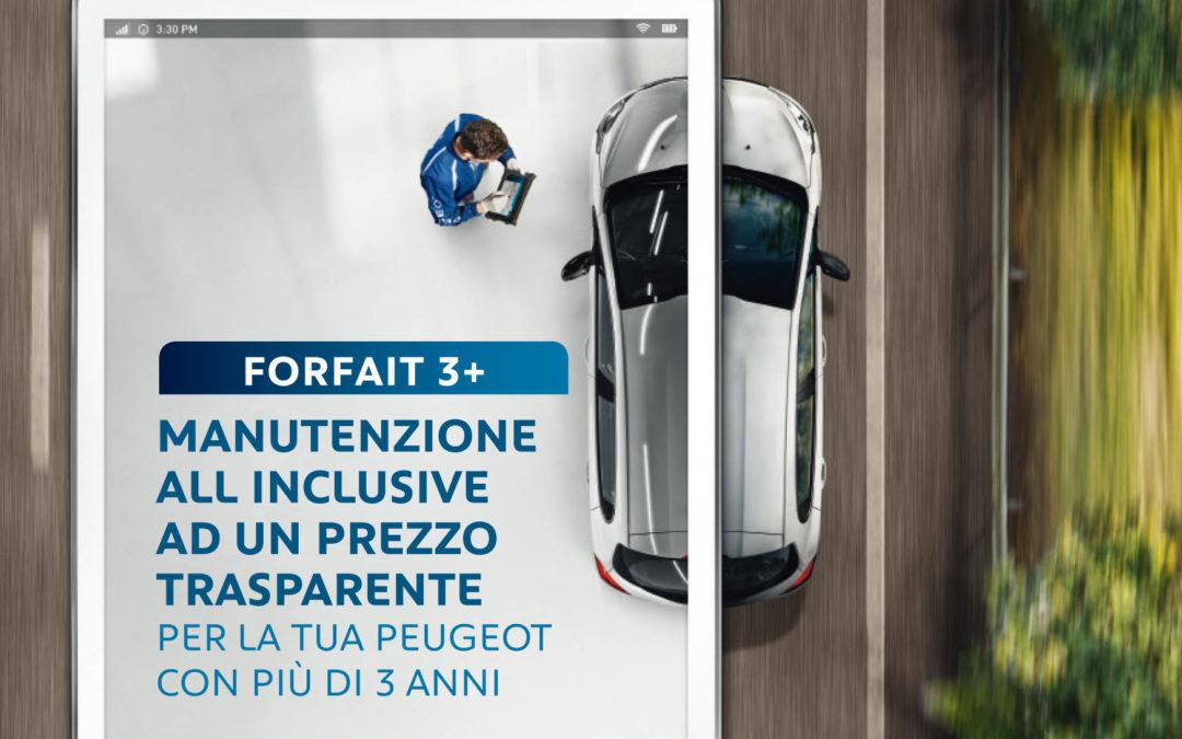 Forfait 3+: la manutenzione all inclusive
